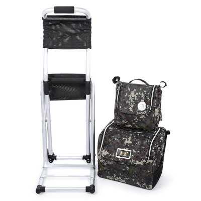 CTSmart Multifunctional Detachable Trolley Bag Folding ChairOther Camping Gadgets<br>CTSmart Multifunctional Detachable Trolley Bag Folding Chair<br><br>Bearing Weight: 130kg<br>Brand: CTSmart<br>Material: Magnesium Aluminum Alloy, Oxford Fabric<br>Package Contents: 1 x Trolley Bag Chair<br>Package Size(L x W x H): 75.00 x 65.00 x 27.00 cm / 29.53 x 25.59 x 10.63 inches<br>Package weight: 4.0200 kg<br>Product Size  ( L x W x H ): 70.00 x 60.00 x 24.00 cm / 27.56 x 23.62 x 9.45 inches<br>Product weight: 3.2000 kg<br>Type: Other Camping Gear