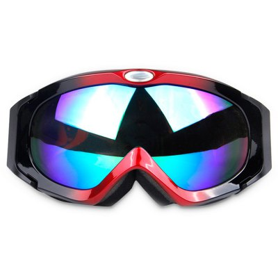 H003 Unisex Double Detachable Lens Skiing Glasses