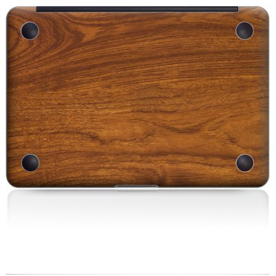 Wood Texture Pattern Overall Laptop Bottom Skin