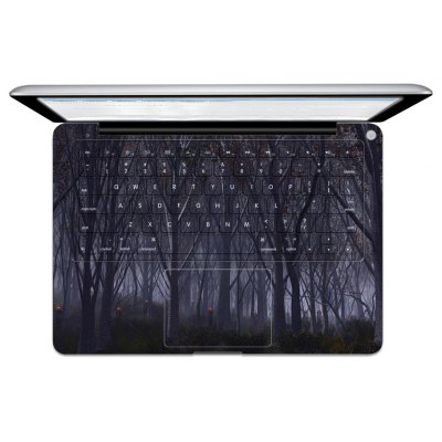 Silent Trees Image Overall Laptop Keyboard Skin