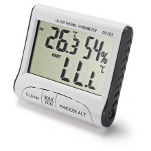 DC103 Indoor Outdoor LCD Digital Thermometer Hygrometer