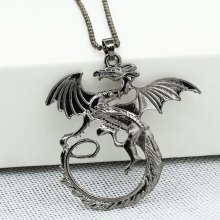 Dragon Pattern Alloy Necklace