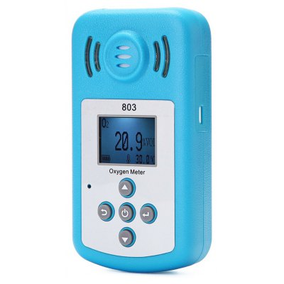 Portable LCD Display Concentration Detector Oxygen Meter