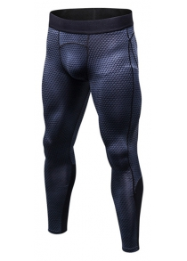 Printed Sports Elastic Breathable Pants for Men