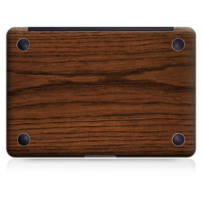 Full Bottom Simple Wood Color Sticker Skin