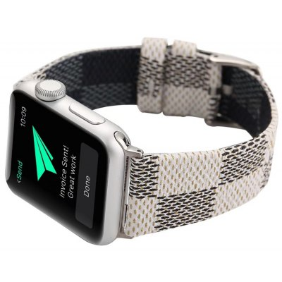 Practical Grid Grain Watchband for 42mm Apple Watch