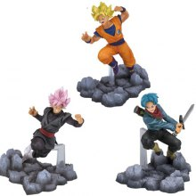 Highly Detailed Anime Movie Character Model Toy - 3pcs / set