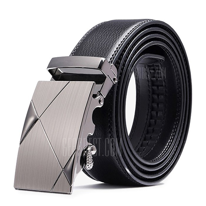 ZHAXIN Western Style Business Belt with Alloy Buckle for Men