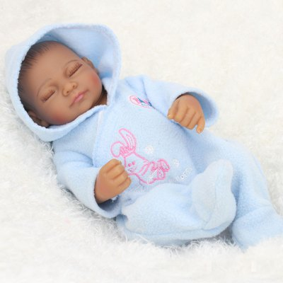 Realistic Simulation Closed Eyes Baby for Decoration