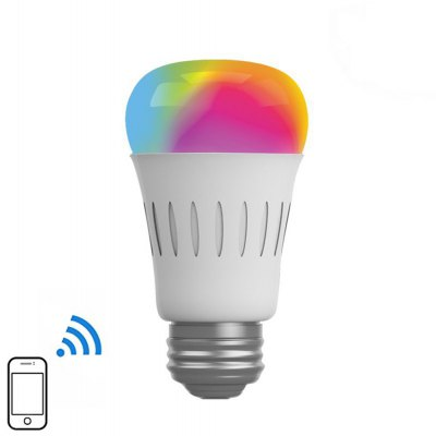AF820 E27 6W Smart WiFi RGBW LED Bulb with Changing Color for Android iOS System - 100 - 240V