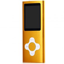 Portable Fashion Style Digital Screen MP4 Player with Universal 3.5mm Jack - 4G