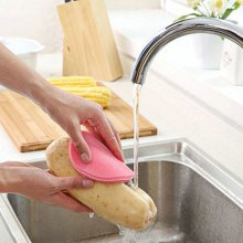 Multi-purpose Cleaning Brush Dish Kitchen Silicone Pad