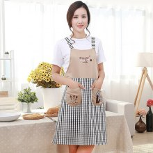 Embroidery Durable Comfortable Apron