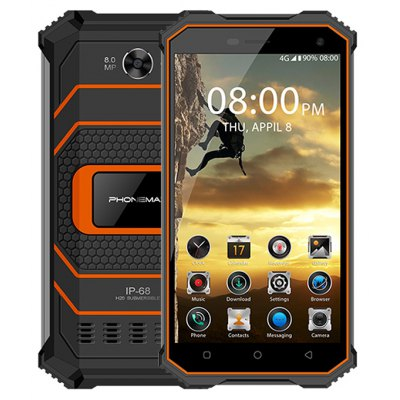 Phonemax Rocky 2 4G Smartphone 5.0 inch Android 7.0