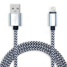 8pin 95cm Woven Design Data Sync / Charging Cable for iPhone