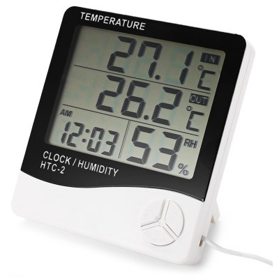 Weather Station Digital LCD Temperature Humidity Meter