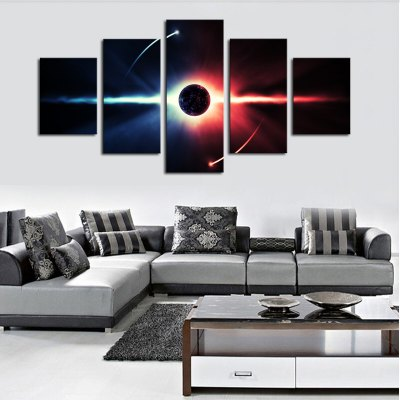 Canvas Print Painting Planet Home Decoration