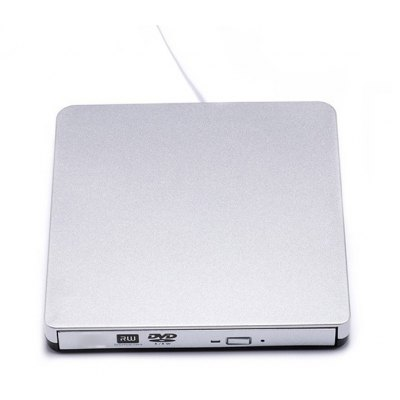 ASUS PD0001 Ultra-slim USB 2.0 Tray Type External DVD Writer