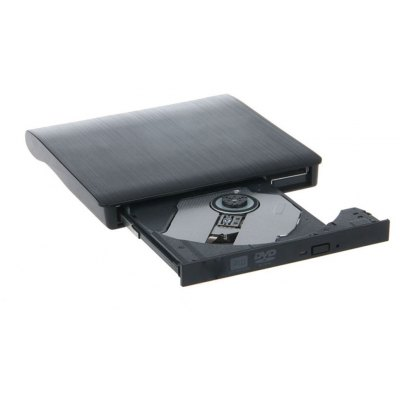 PD0004 Ultra-slim USB 2.0 Tray Type External DVD Writer