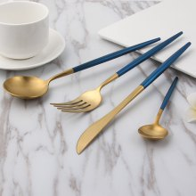 European-style Stainless Steel Cutlery 4pcs / Set