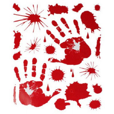 Bloody Handprint Bloodstains Decals