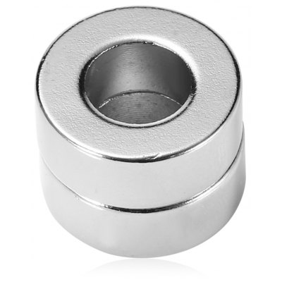 N52 NdFeB Magnet Circle 16 x 16 x 6mm 2pcs