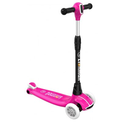 Foldable Kick Scooter with Flashing Wheels for Kids