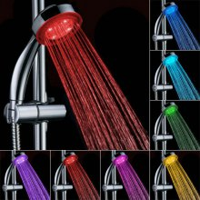 LED Seven Colors Changing Bathroom Showerhead