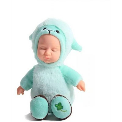 Simulation Reborn Doll Toy in Sheep Style Clothes