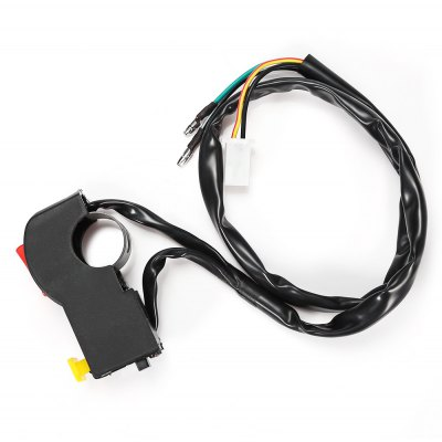 Motorcycle 7/8 inch Handlebar Electrical Start Engine Stop Right Switch