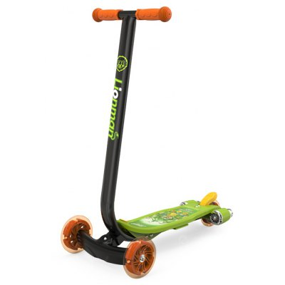 Foldable Scooter with Tail Light for Kids