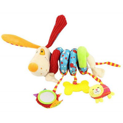 Dog Style Spiral Toy Set for Baby