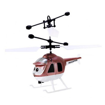 Hand Induction Suspension Helicopter with Sensor
