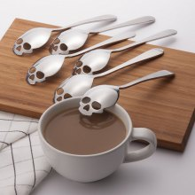 Skull Shape Stainless Steel Teaspoon
