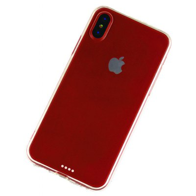 Slim TPU PC Phone Case for iPhone X Mobile Cover Protector