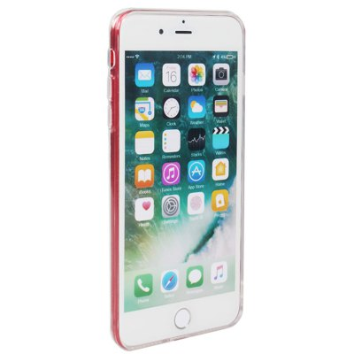 Slim TPU PC Phone Case for iPhone 8 Dust Plug Cover