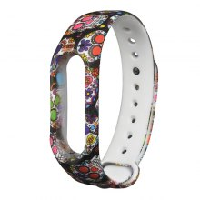 Hand-painted Replacement Wristband for Xiaomi Mi Band 2