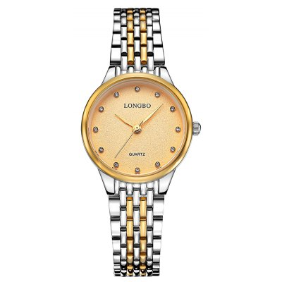 Longbo 80273 4587 Female Rhinestone Embedded Watch