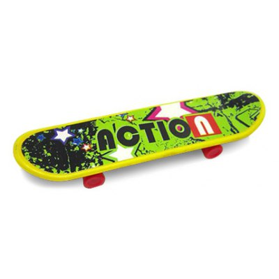 Desktop Toy Skateboard with Various Pictures