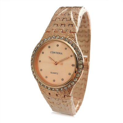 Contena G0001 Steel Band Women Quartz Watch
