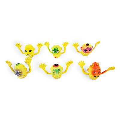 Scary Style Finger Toy 6PCS