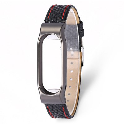 Wristband for Xiaomi Mi Band 2 Leather Material