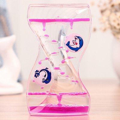 Stylish S Pattern Animal Oil Hourglass 1pc