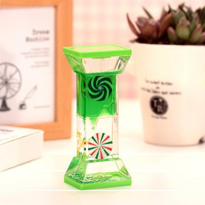 Creative Square Column Oil Hourglass 1pc