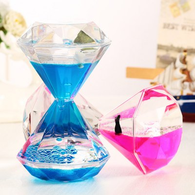 Oil Sandglass Hourglass Floating Dolphin 1pc