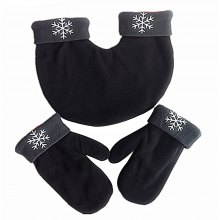 Warmest Smooth Fleece Thick Christmas Couple Gloves