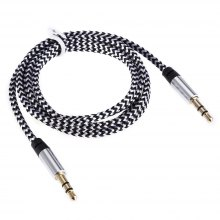 C05 1.03m 3.5mm Male to 3.5mm Male Braid Audio Cable