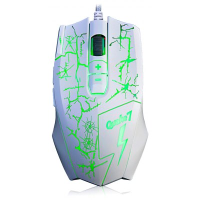 Ajazz Q7 Wired Gaming Mouse with RGB LED Light 4000 DPI