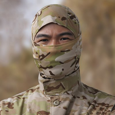 Outdoor Breathable Full Cover CS Protective Mask
