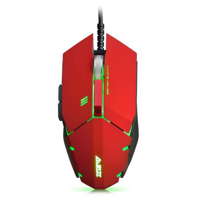 AJAZZ GTC Wired Gaming Mouse with LED Light 4000 DPI